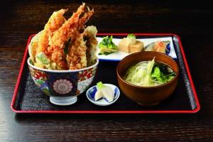 【鶴亀屋ディナー】天丼定食合成